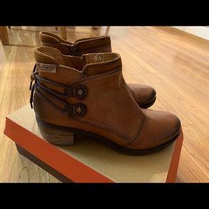 Pikolinos Brown Booties EUC, Euro Size 41